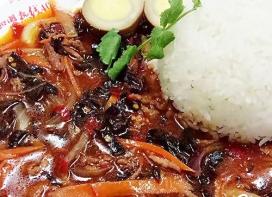 西安鱼香肉丝盖浇饭